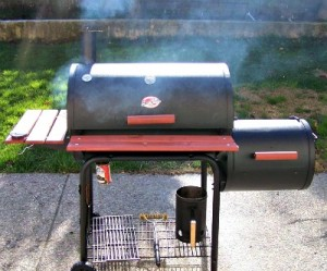 Reston Food Blog - Offset Smoker - Char-Griller