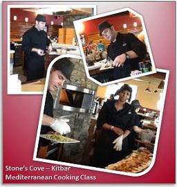 Reston Food Blog - Mediterranean Class at Stone's Cove Kit Bar
