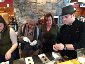 Reston Food Blog - Mediterranean Class at Stone's Cove Kit Bar