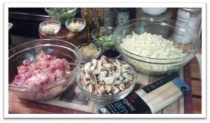 Reston Food Blog - Easy Miso-Chicken Soup Prep