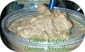 Reston Food Blog - Coffee Chocolate Banana Energy Smoothie