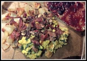 Reston Food Blog - Saturday Breakfast from a Market Basket