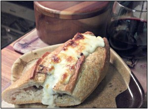 Reston Food Blog - Angelic Beef Sandwich with Blue Cheese Mousse
