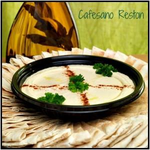 Reston Food Blog - Cafesano Hummus