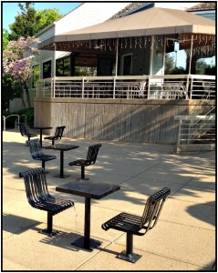 Reston Food Blog - Cafesano Patio