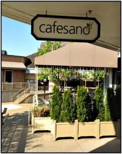 Reston Food Blog - Cafesano Store Front