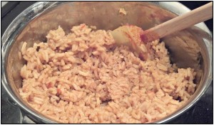 Reston Food Blog - Chili Rice