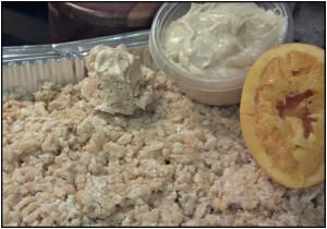 Reston Food Blog - Orange Dreamsicle Crispy Treats