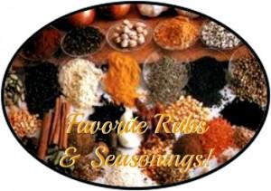 Reston Food Blog - Favorite Rubs and Seasonings