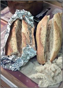 Reston Food Blog - Wheat Baguette