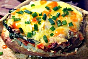 Reston Food Blog - Baked Potato and Egg