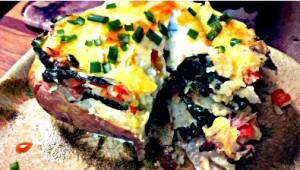 Reston Food Blog - Baked Potato and Egg