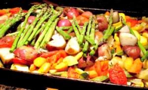Reston Food Blog - Roasted Vegetables