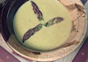 Reston Food Blog - Asparagus Soup