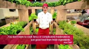 Reston Food Blog - Vapiano Herb Gardens