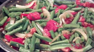 Reston Food Blog - Go To Green Beans
