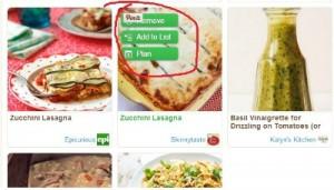 Reston Food Blog - ZipList Save Recipe to Shopping List
