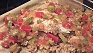 Reston Food Blog - Cajun Flounder