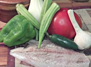 Reston Food Blog - Cajun Flounder