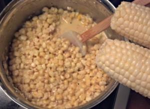 Reston Food Blog - Creamed Corn