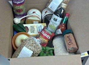 Reston Food Blog - Starving Student Care Package - Red Beans and Rice