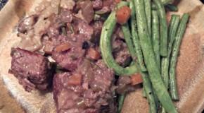 Reston Food Blog - Beef Short Ribs and Risotto